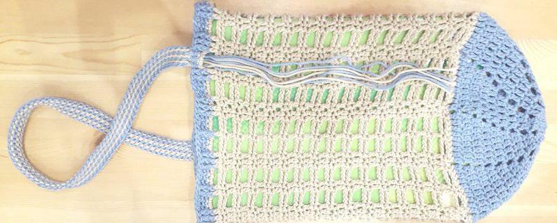 borsa con Recycled Cotton di Katia filati