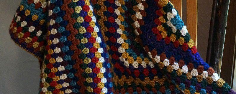 Foto di copertina a uncinetto presa da Pikrebo