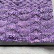 Collo a maglia realizzato con lana Corriedale tinta a mano da Fish&Stitch